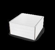 Folding Type Box  - 3 x 3 x 2- White - Kraft