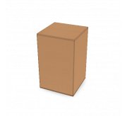 Regular Slotted Box - 5x5x8 (Manual made) - Standard Kraft