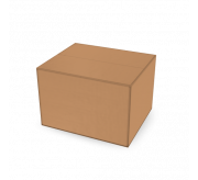 Regular Slotted Box  - 19 x 16 x 13 cm (Strong Kraft)