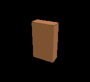 Reverse Tuck Flap Box - 9.2 x 3.4 x 15.1