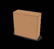 Regular Slotted Box  - 9.5 x 3.5 x 9.5 inch