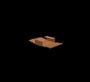 T Type Folding Box - 12.5 x 8.5 x 2.5 (Strong + Kraft)
