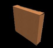 Reverse Tuck Flap Box - 21 x 3.2 x 18.6 cm