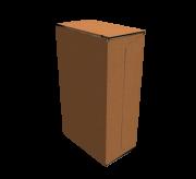 Reverse Tuck Flap Box - 4.5 x 2.5 x 7.5- Standard Kraft