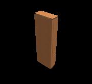 Reverse Tuck Flap Box - 4.7 x 1.6 x 13.7 - Corrugated box