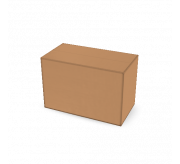 Regular Slotted Box  - 7.5 x 4 x 5 (Rotary Made)