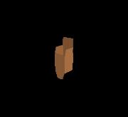 Auto Bottom Lock with Full Flap - 3.5x3.5x5.1 Inch (9x9x13Cm)