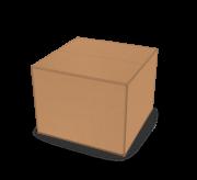 Regular Slotted Box - 8.5x8.5x6.6 - Standard Kraft