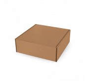 Folding Type Box - 30x30x10 Cm - One Side Printed