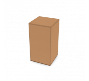 Regular slotted box-3.2 x 3.2 x 6-Corrugated Box