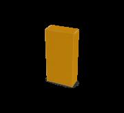 Reverse Tuck Flap Box - 8.5 x 1.4 x 12.5- Corrugated Box (Strong Kraft)