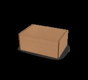 Folding Type Box  - 6 x 4 x 2.5- Strong Kraft