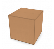 Regular Slotted Box - 22 x 22 x 22 - Corrugated Box