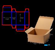 Reverse Tuck Flap Box