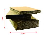 22L x 22W - Ply5 - Corrugated Sheets -GSM 100