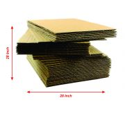 28L x 28W - Ply3 - Corrugated Sheets -GSM 100